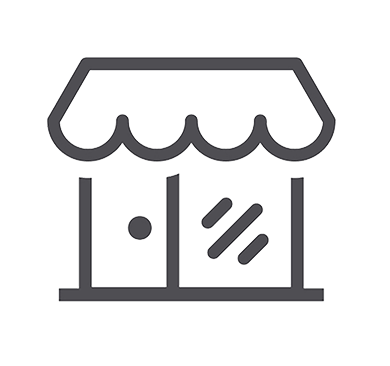 Small business storefront icon